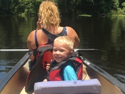 First Canoe Adventure