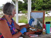 Plein Air Painting at Grayton Beach State Park