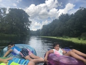 On the river
