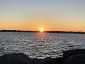 Sunrise over Shell Island