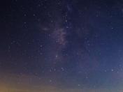 Milkyway over Paynes Prairie