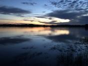 Sunrise on Lake Henderson