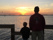 Collins boys sunset
