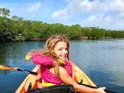 Kayaking on Christmas