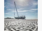 Winter Sailboat