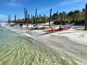 Group paddle to Egmont Key
