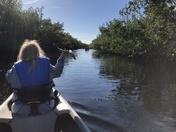 Kayaking at Christmas