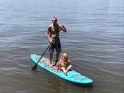 Paddle Board with Grandpa