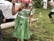 Bubbles and camping