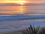 Sunrise over Gamble Rogers