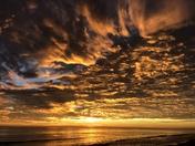 Amazing Sunrise at Flager Beach