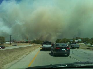 Fire in bastrop texas two going at same time
