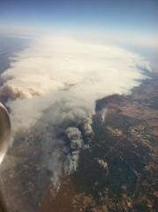TX Fires from Above
