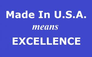 Made in the USA Means Excellence