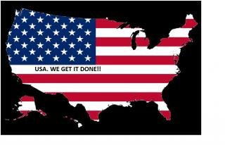 USA.  We Get it Done!!