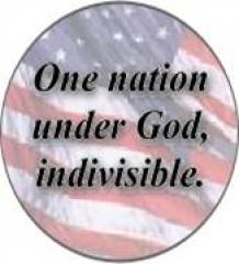 """One Nation Under God, Indivisible"""