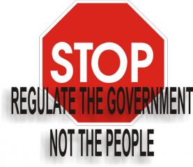 Regulate the Government!