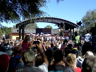 Romney Rally, Duned in FL