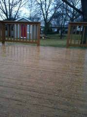 Hail Storm in 60133 at 3:00PM