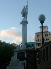Christopher Columbus in Old San Juan