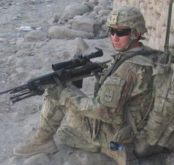 My Son Serving in Afghanistan