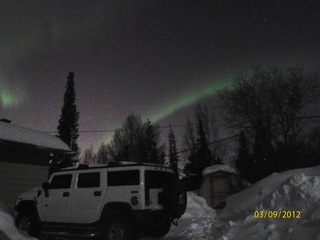 Northern Lights Over Anchorage, Alaska