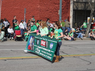St. Patrick's Day in Rochester, New York