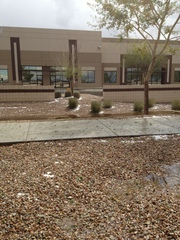 Hail in Gilbert