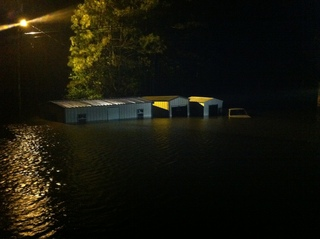 Flooding in Rosepine Louisiana