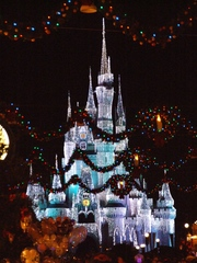 DisneyWorld at Christmas