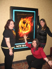 The Girl Was on Fire! The Hunger Games Open!