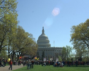 Health Care Protests on Capitol Hill