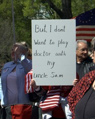 But, I don't want to play doctor with my Uncle Sam