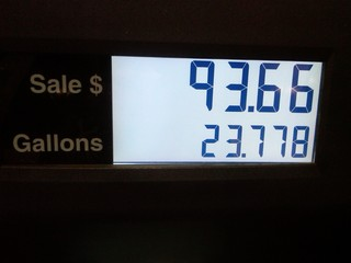 Cost to Fill my Tank