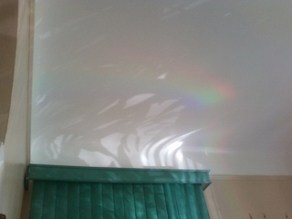 Over the rainbow in the house