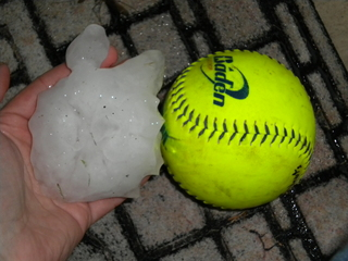 Softball Size Hail, Rockwall, TX