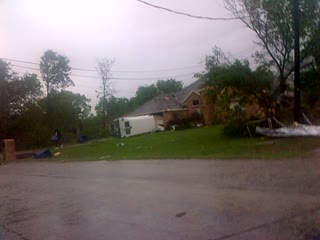 Texas Tornado damage