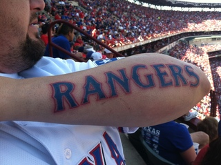Texas rangers opening day !
