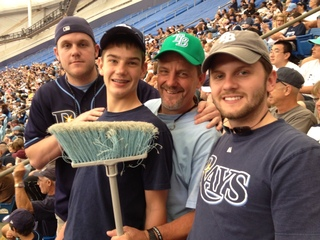 Rays Sweep the Yankees on Easter Sunday!!