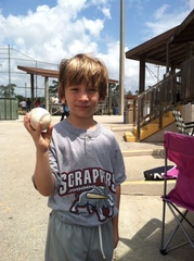 Roan's Little League Game Ball