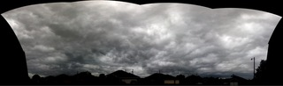 Clouds over Moore, OK