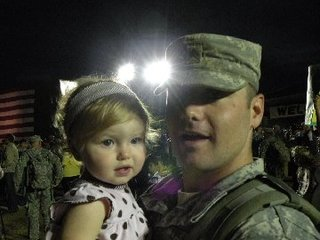 My Husband Returns From Third Deployment