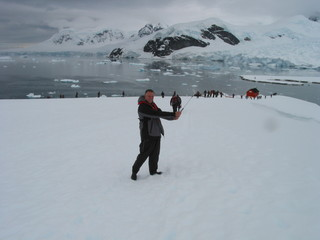 Golf Ball Hit On Antarctica