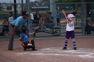 Girls 8U Horned Frogs
