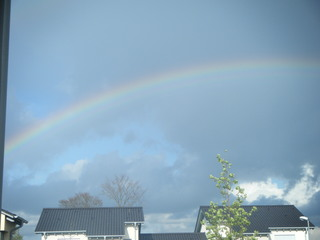 Triple Rainbow in Spangdahlem, Germany