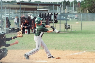 Jason at bat