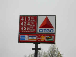 Gas Prices, Rochester, N.Y.