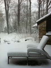 Snow in Seven Springs, PA
