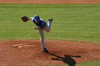 On the mound or at the plate!