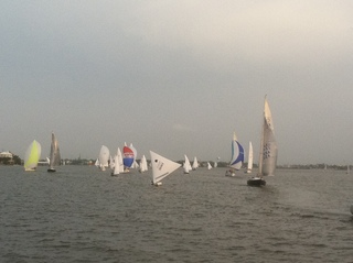 Wednesday Night Sailboat Races on Clear Lake